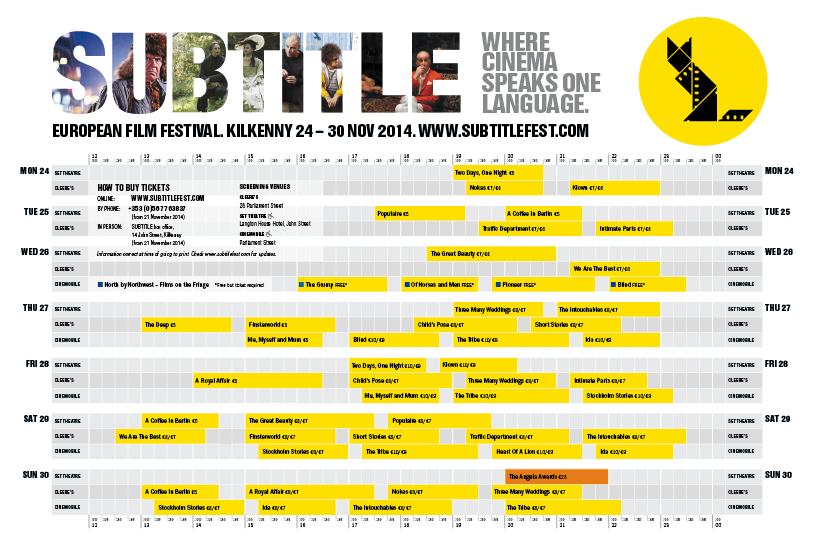 SUBTITLE 2014 planner